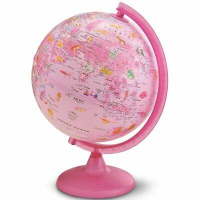 Zoo Pink Illuminated Globe 25cm