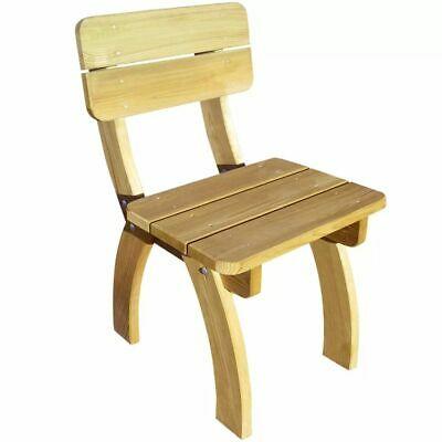 vidaXL Garden Chair Impregnated Pinewood with Backrest