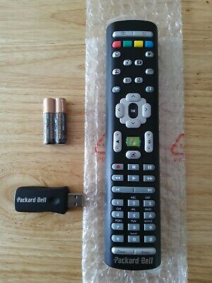 NEW - PACKARD BELL Media PC Laptop Remote Control + USB