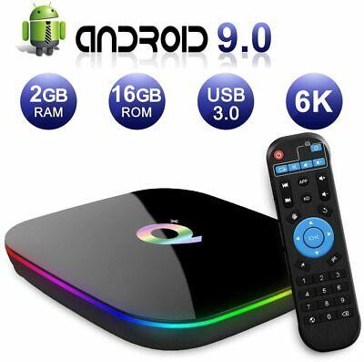 Q PLUS ANDROID 9.0 TV BOX 2GB RAM/16GB