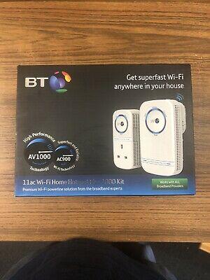 BT 11ac Wi-Fi Home Hotspot Plus  Kit WiFi Powerline