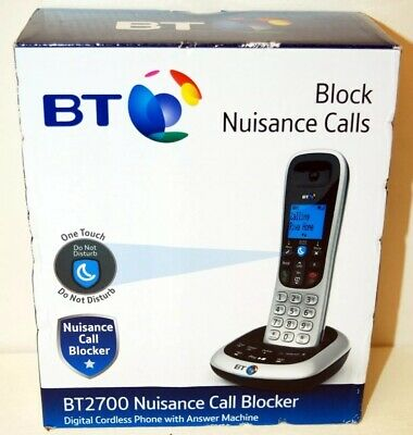 BT  Digital Cordless Answerphone with Nuisance Call