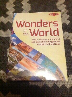 Brand New BNIB Tactic Wonders of the World Board Card Game