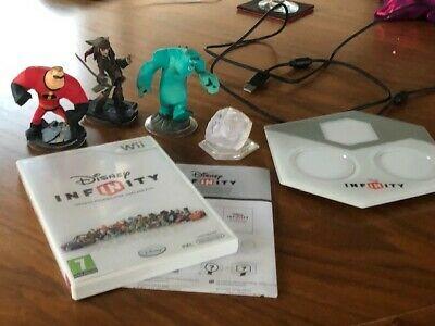 Disney Infinity Starter Pack (Nintendo Wii, ), no box