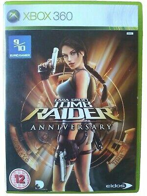 LARA CROFT TOMB RAIDER: Anniversary - Xbox 360. Manual