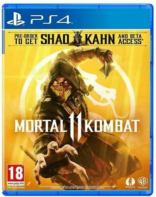 Mortal Kombat 11 (PS4) BRAND NEW AND SEALED - IN STOCK -