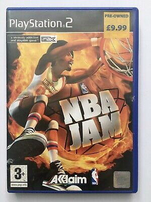 NBA Jam PS2 Game Basketball. With Manual. Free Shipping. See