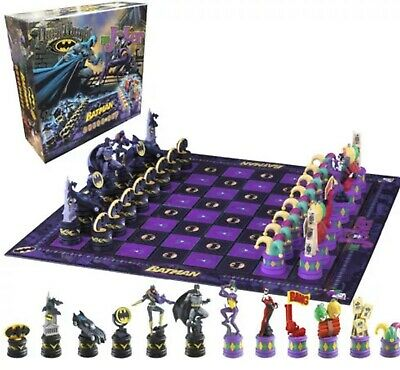 The Noble Collection Batman Chess Set. The Dark Knight vs