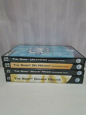 The Sims: Double Deluxe Bundle 3 expansions (Windows 98)