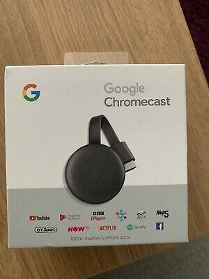 Google Chromecast Ultra (3rd Generation) Media Streamer -