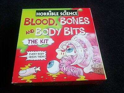 HORRIBLE SCIENCE BLOOD BONES AND BODY PARTS THE KIT