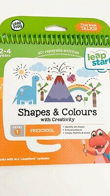 LeapFrog Shapes Colours and Creativity Activity Book