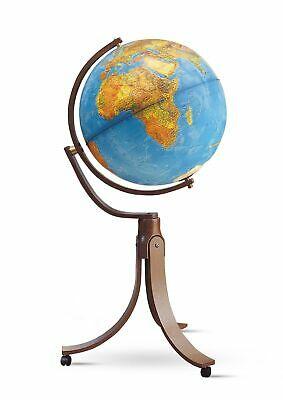 Nova Rico Emily Freestanding Illuminated Hardwood Globe - 50