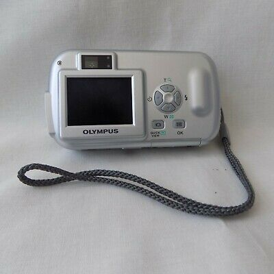 Olympus CAMEDIA MP Digital Camera - Silver