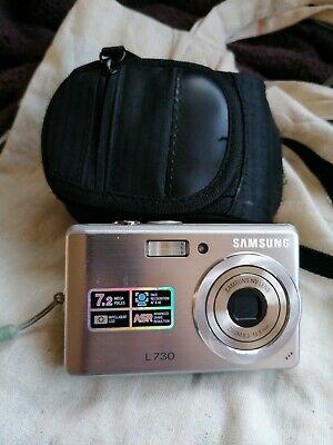 Samsung L Series LMP Digital Camera - Silver