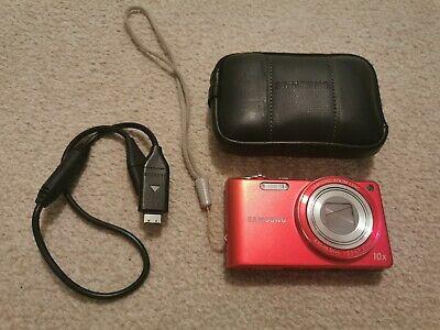 Samsung PL Series PLMP Digital Camera - Red