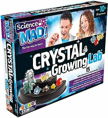Science MAD! Crystal Growing Lab
