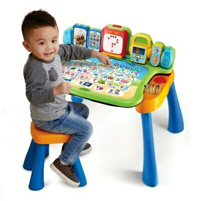 Touch & Learn Activity Desk For Kids Educational And Fun