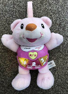 VTech Baby Little Singing Bear • Pink • Toy Lights Music