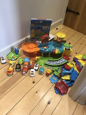 VTech Toot Drivers Garage Track And Cars