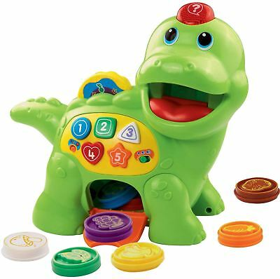 Vtech Feed Me Dino Interactive Colour Shape & Counting Game