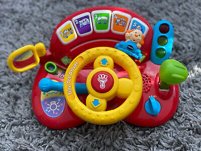 Vtech Tiny Tot Driver Toddler Interactive Toy