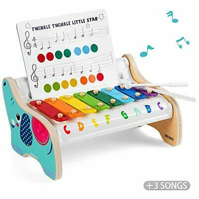Wooden Xylophone Toy for Toddlers 1 2 Years Old Boys and