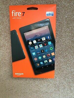 "Amazon Fire 7 (7th Generation) 8GB, Wi-Fi, 7"" Tablet Blue,"