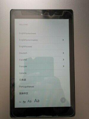 Amazon Kindle Fire HD 8 16GB, Wi-Fi, 8in - Black**
