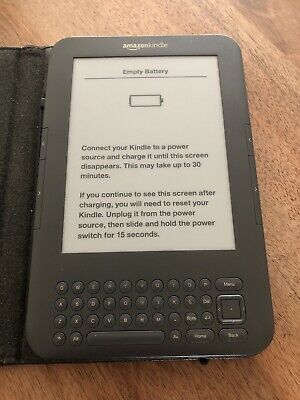 Amazon Kindle Keyboard (3rd Generation), Wi-Fi + 3G