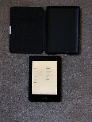 Amazon Kindle Paperwhite 3 (7th Generation) Black, 4GB,