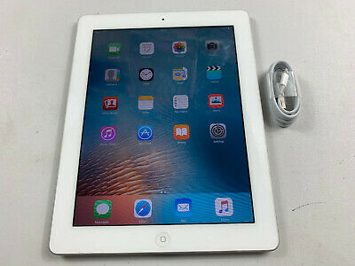 Apple iPad 2 16GB WiFi only iOS 9, White READ MAIN Ref P748