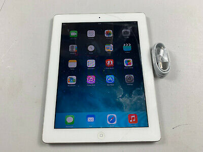Apple iPad 2 16GB WiFi only iOS 9, White Read Main Ref P742
