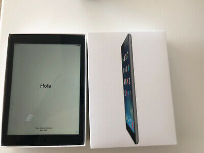 Apple iPad Air 16GB Wi-Fi + Cellular (Unlocked), 9.7in -