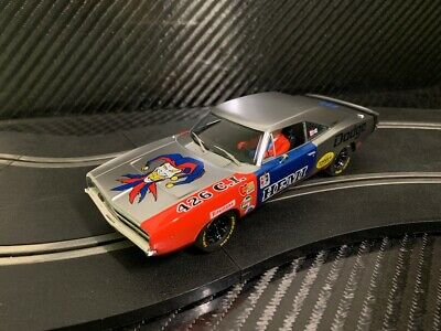 PIONEER SLOT CAR UNBOXED DODGE CHARGER 'THE JOKER' -