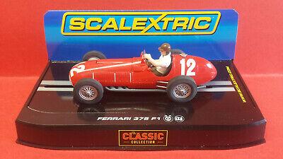 SCALEXTRIC C FERRARI 375 F1 #12 F. GONZALES BRITISH