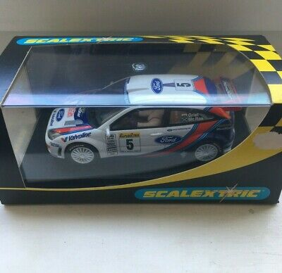 SCALEXTRIC C FORD FOCUS WORKS  NR 5 COLIN MC