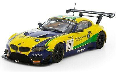 SCALEXTRIC Slot Car - C - BMW Z4 - GT3 - Team Brasil