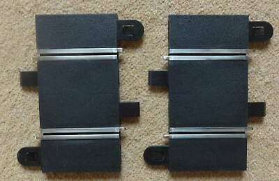 Scalextric 2 X C Short Straight 78mm Long 'T' Very Good