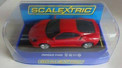 Scalextric Ferrari F430 Red C DPR  DPR Near Mint