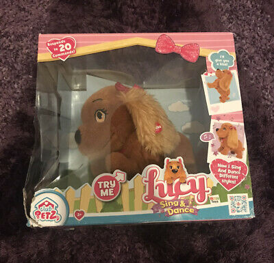 Club Petz Lucy Dog Sing & Dance Interactive Toy