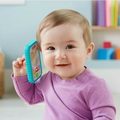 Fisher-Price Selfie Baby Phone Rattle Mirror Teething Toy