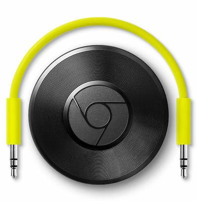 Google Chromecast Audio 2nd Generation Media Streamer -