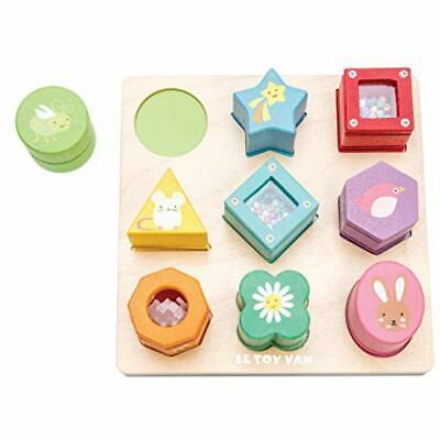 Le Toy Van - Wooden Educational Petilou Sensory Shapes