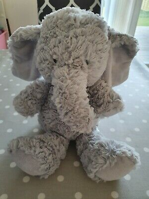 Marks and Spencer Grey Elephant Soft Toy 36cm () M&S