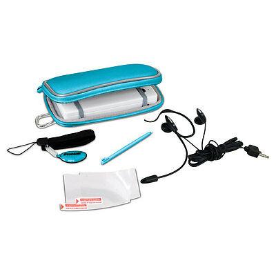 New Blue dreamGEAR Nintendo DSi 5 in 1 Starter Kit Case
