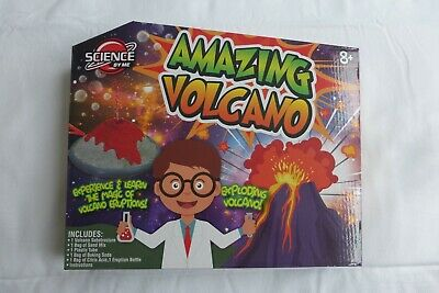 Brand New Science By Me Amazing Volcano Science Kit