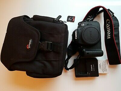 Canon EOS 700D 18MP Digital SLR Camera - Black (Body) - Mint