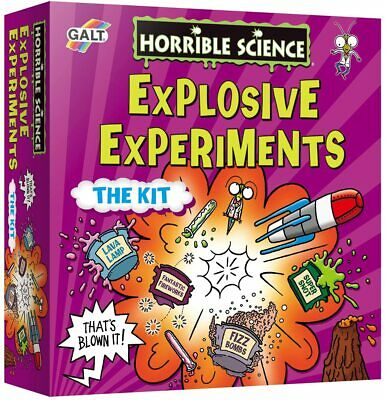 Galt Toys Horrible Science Explosive Experiments