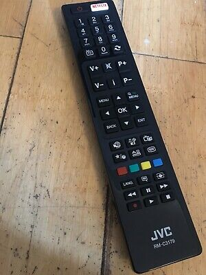 JVC RM-C RMC Smart LED TV Remote Control